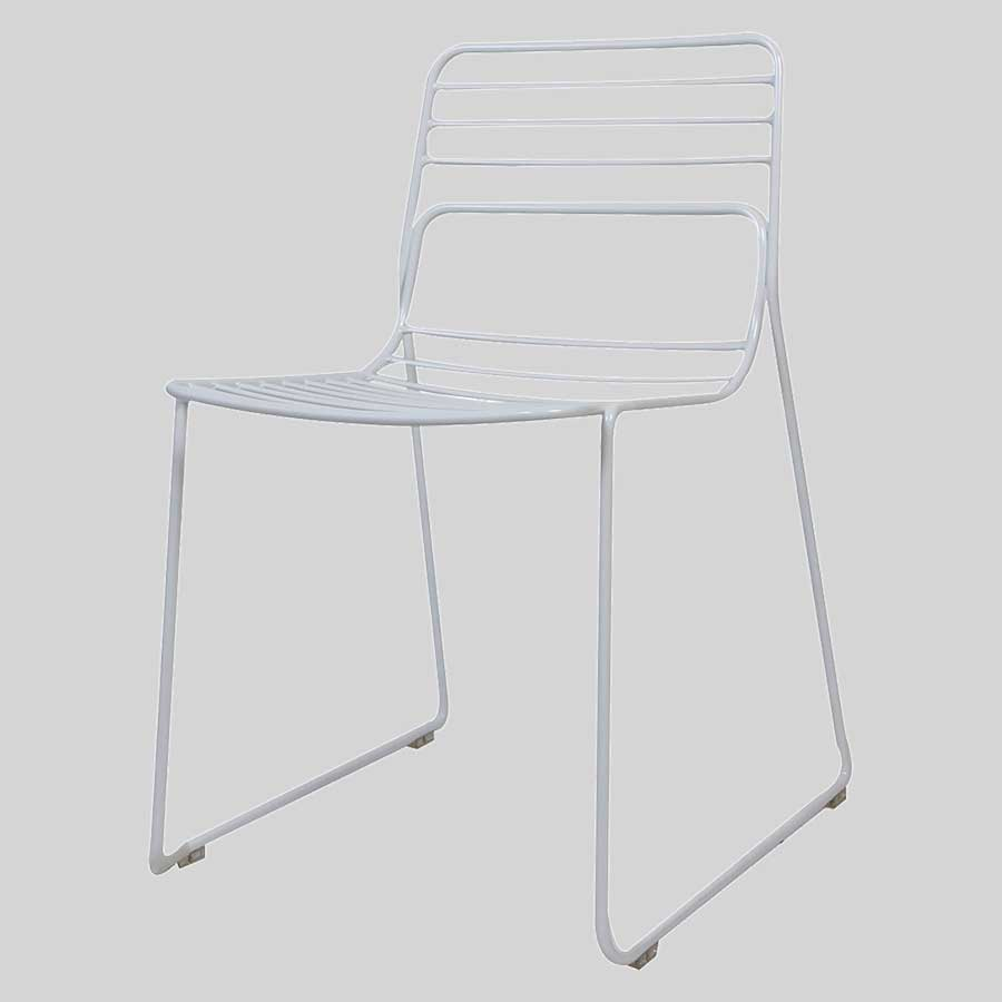 Gauge Metal Chairs - White