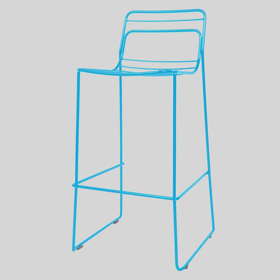 Gauge Bar Stool - Blue