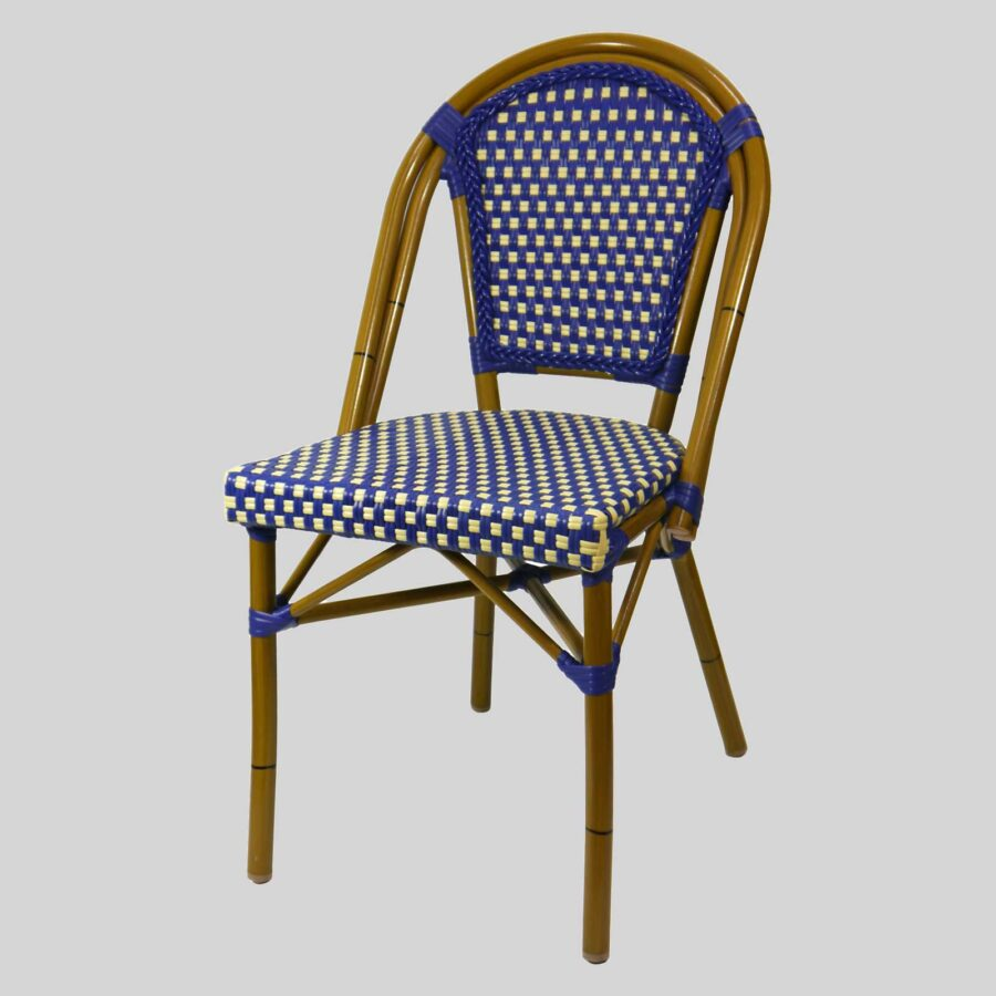 Jasmine French Dining Chairs - Cream/Brown