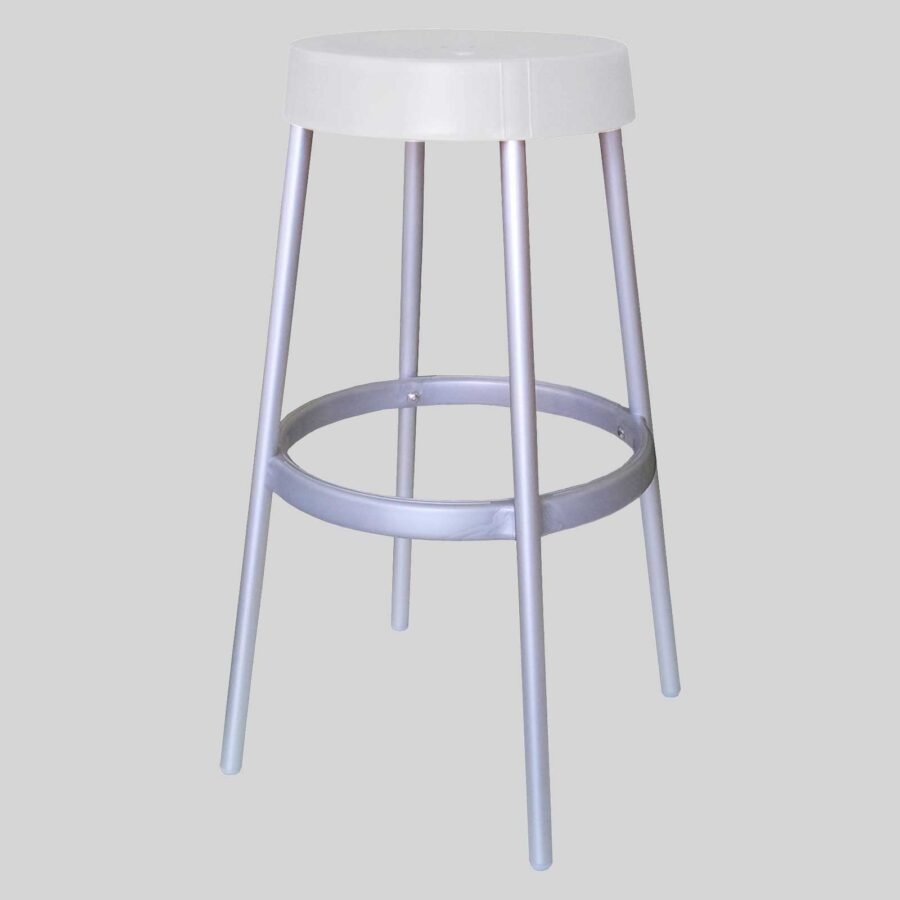 Jim Stool - White