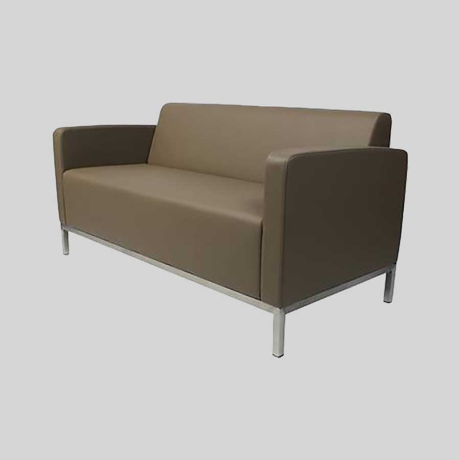 Kube Double Lounge - Taupe