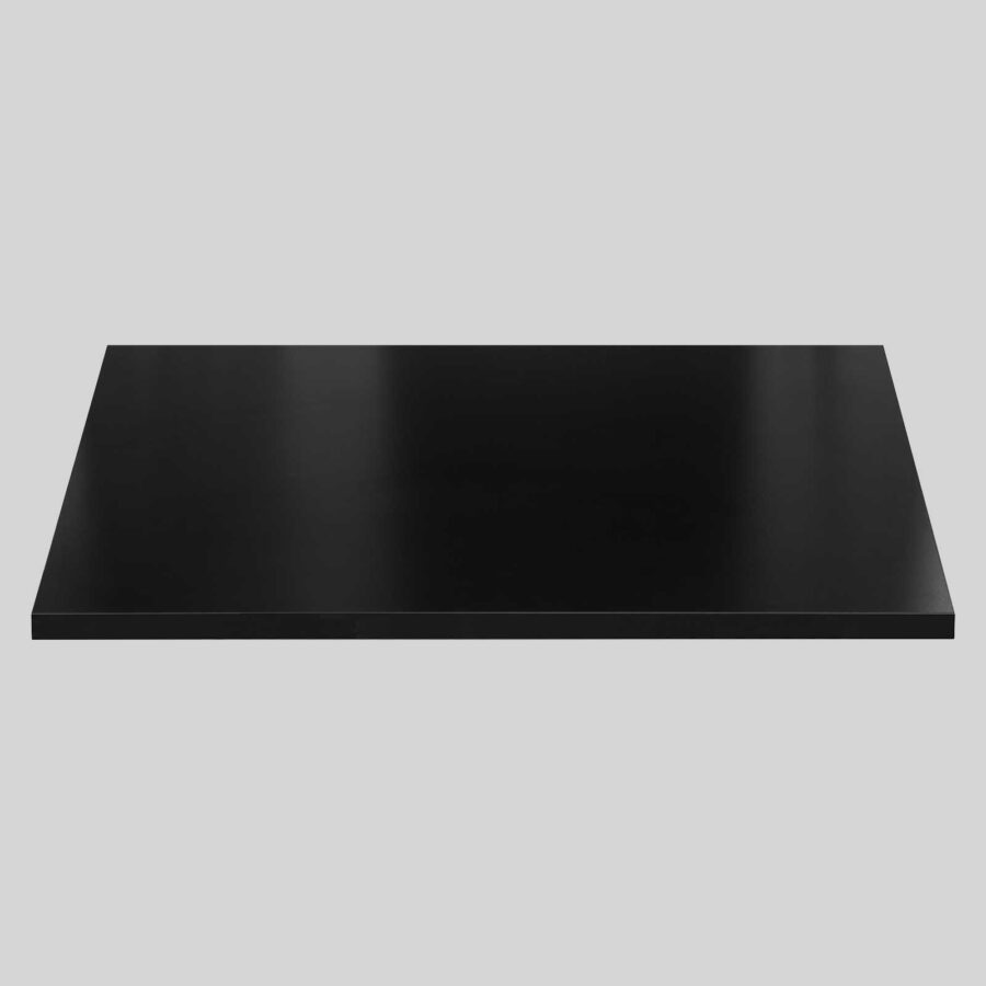 Melamine Restaurant Table Tops - Black