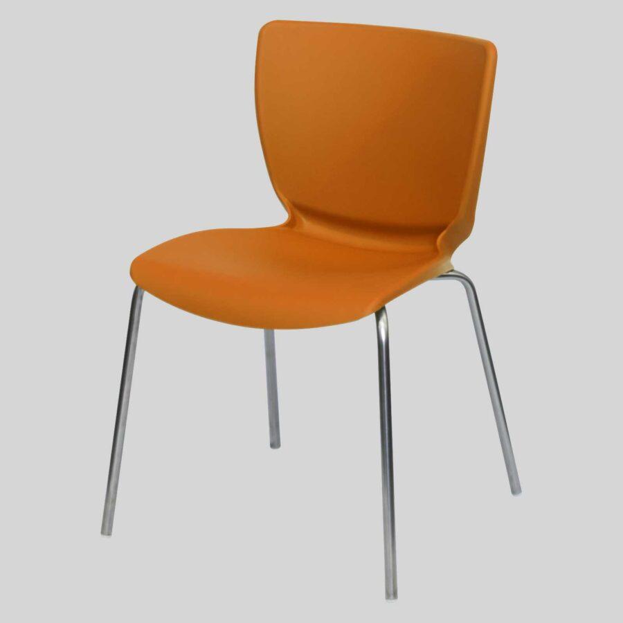 Metro commercial chairs - Orange