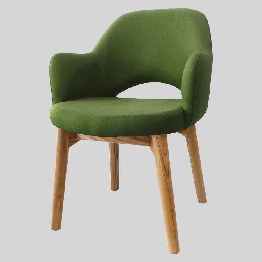 Mulberry Occasional Armchair - Green/Natural