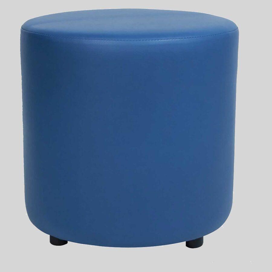 Ottoman Round - Blue