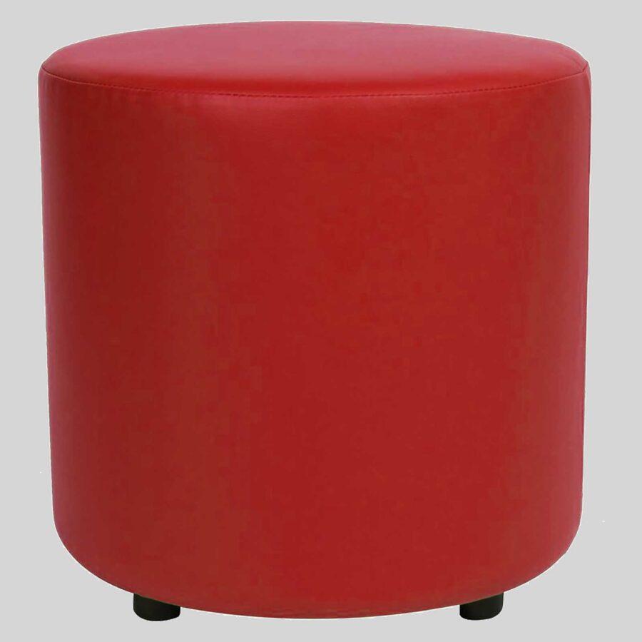 Ottoman Round - Red