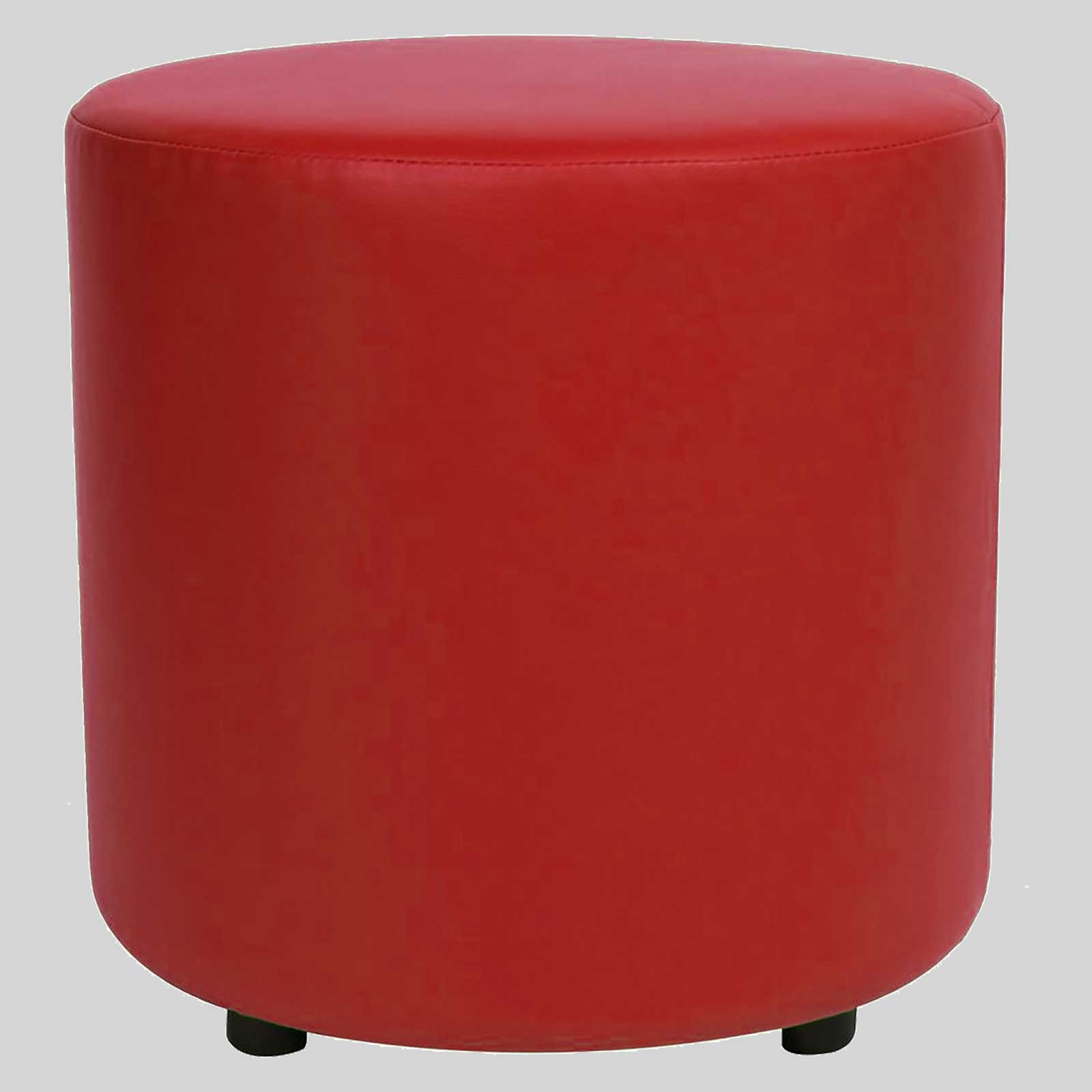 commercial quality round ottoman  concept collections - ottoman round  red