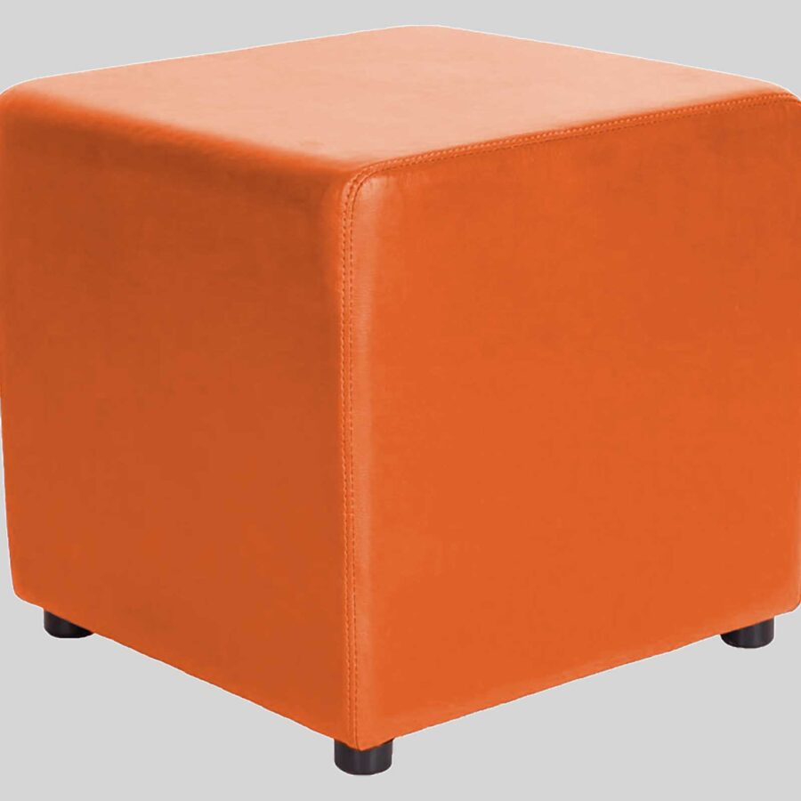 Ottoman Square - Orange