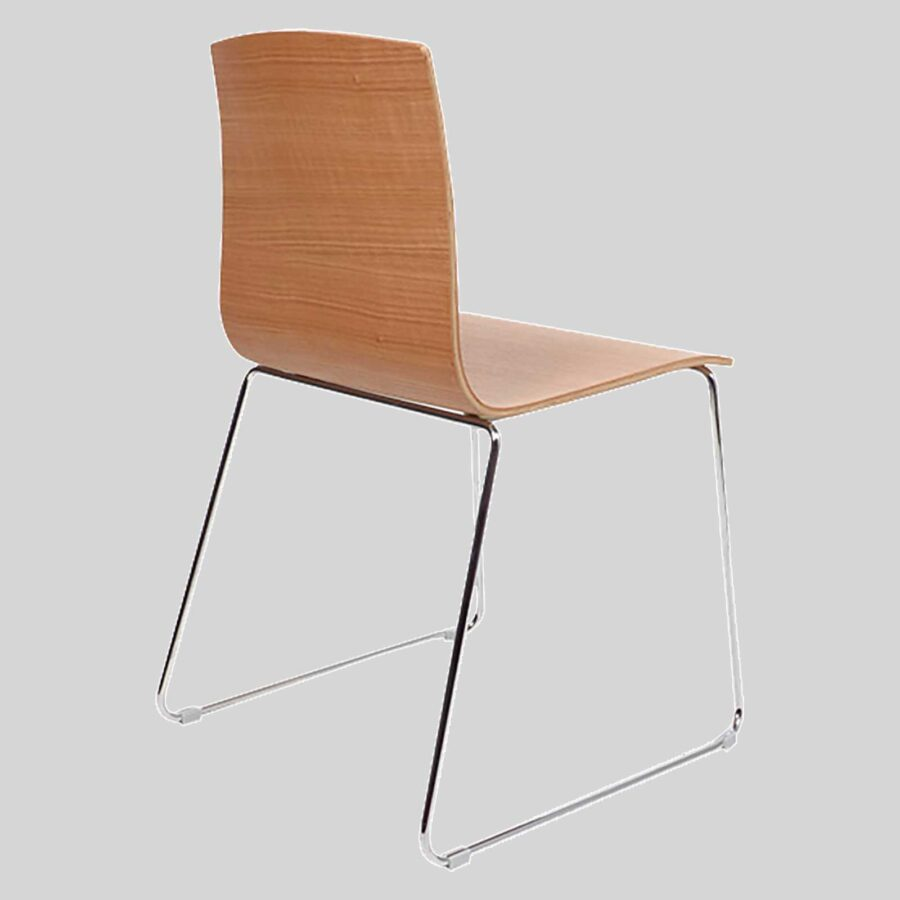 Palais plywood chairs - Natuiral