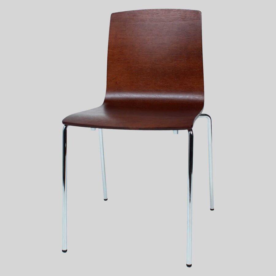Palais Veneer Chair - Walnut