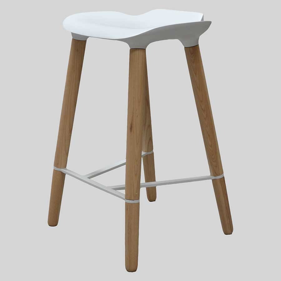 Parker Counter Stool - White