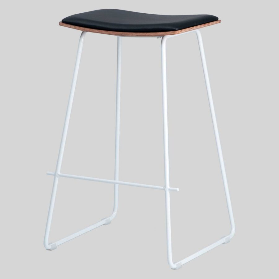 Pi Stool - Black, White