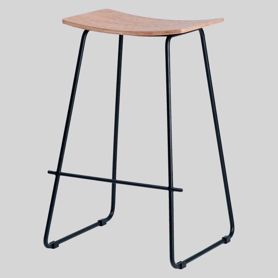 Pi Stool - Natural, Black