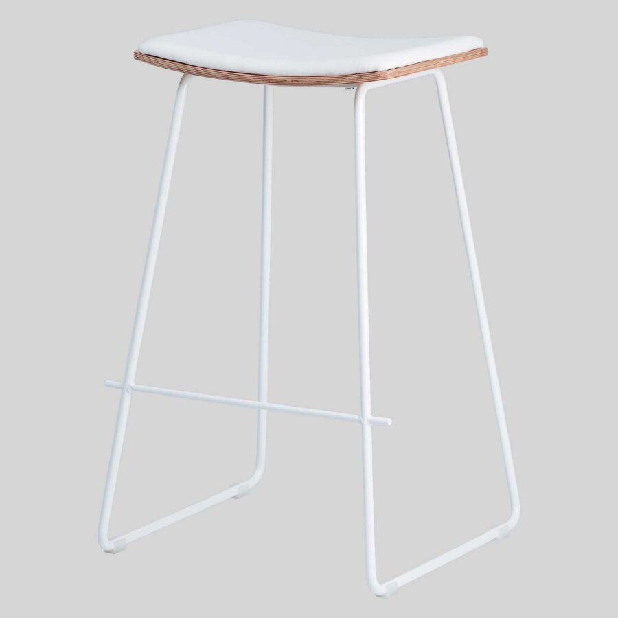 Pi Stool - White, White