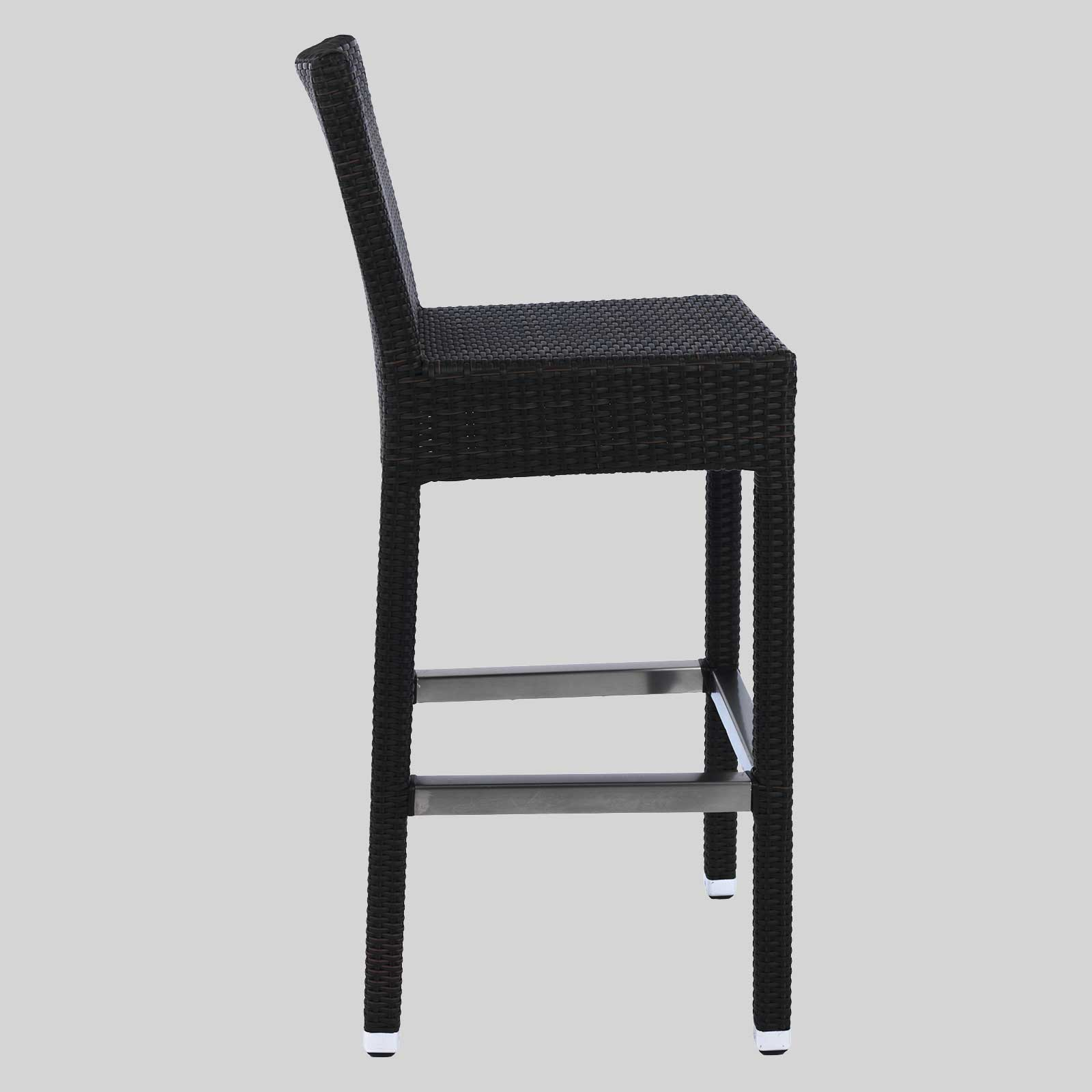 commercial wicker barstools resortica concept collections. Black Bedroom Furniture Sets. Home Design Ideas