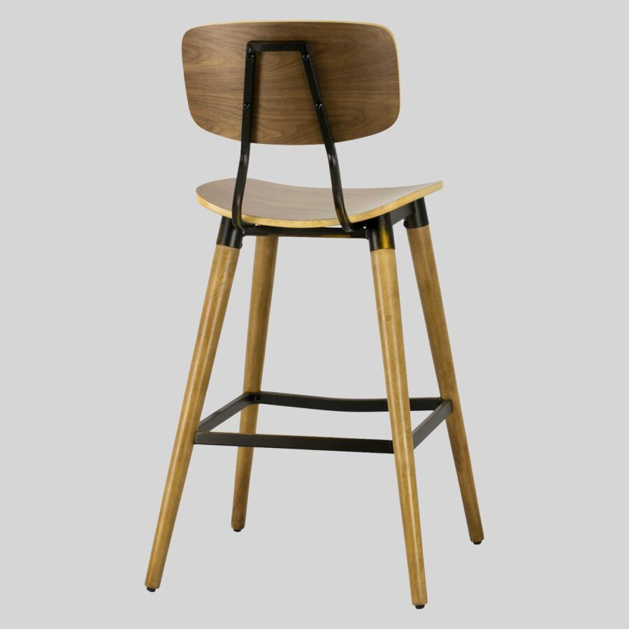 Retro X Bar Stool