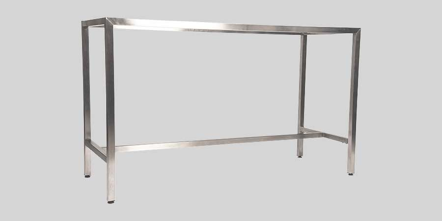 Richmond Bar Table Base 1800 - Stainless