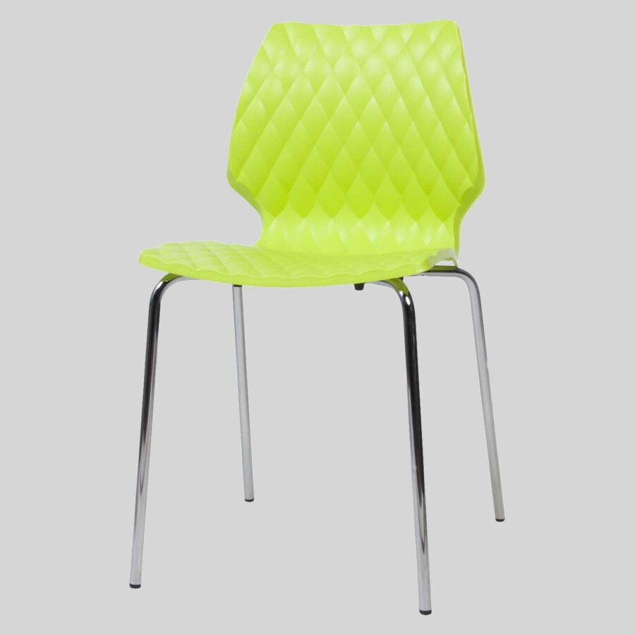 Uniq contemporary dining chairs - Green