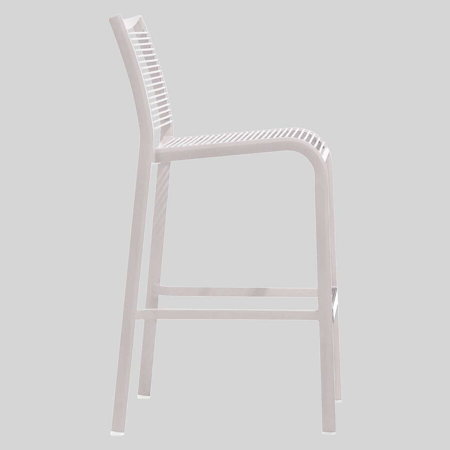 Waverly Barstool - White