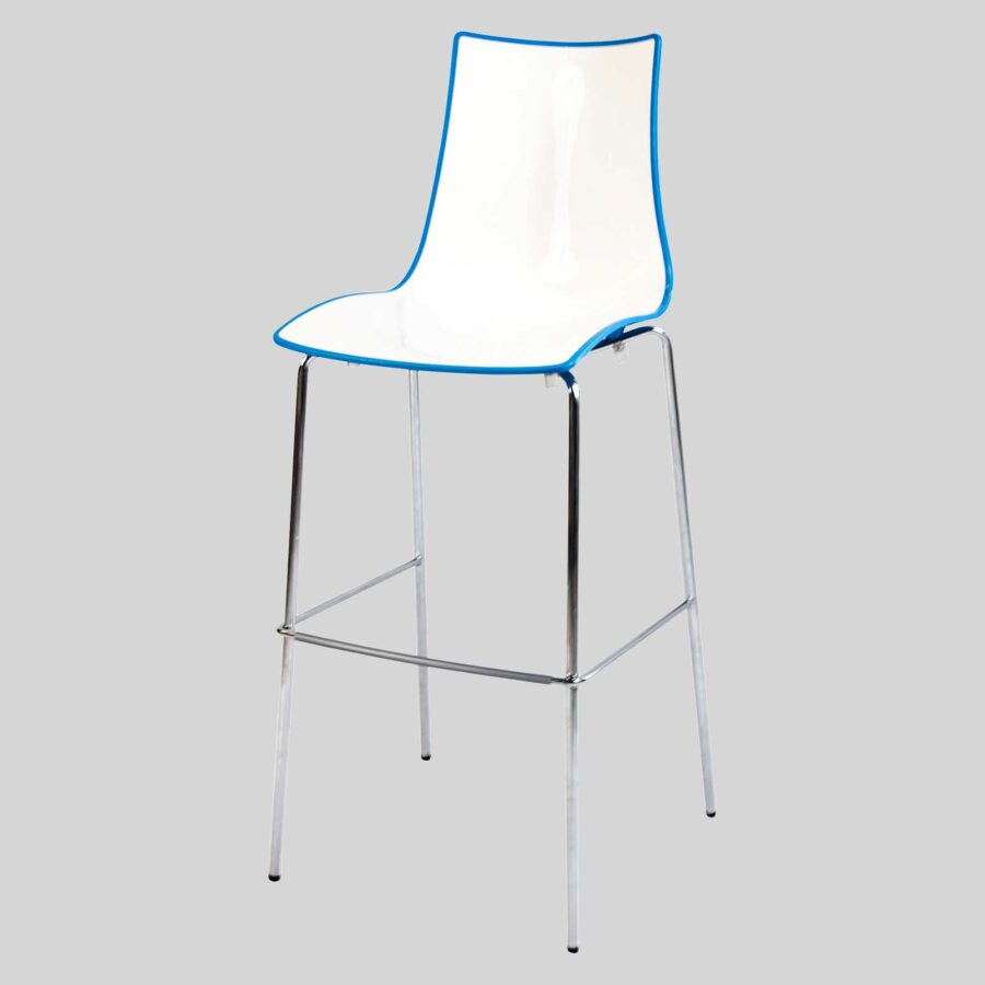 Zelda Duo Bar Stool - Blue
