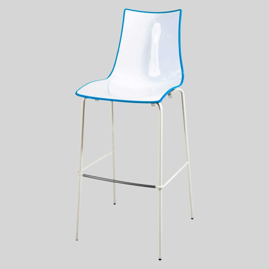 Zelda Duo Outdoor Bar Stool - Blue