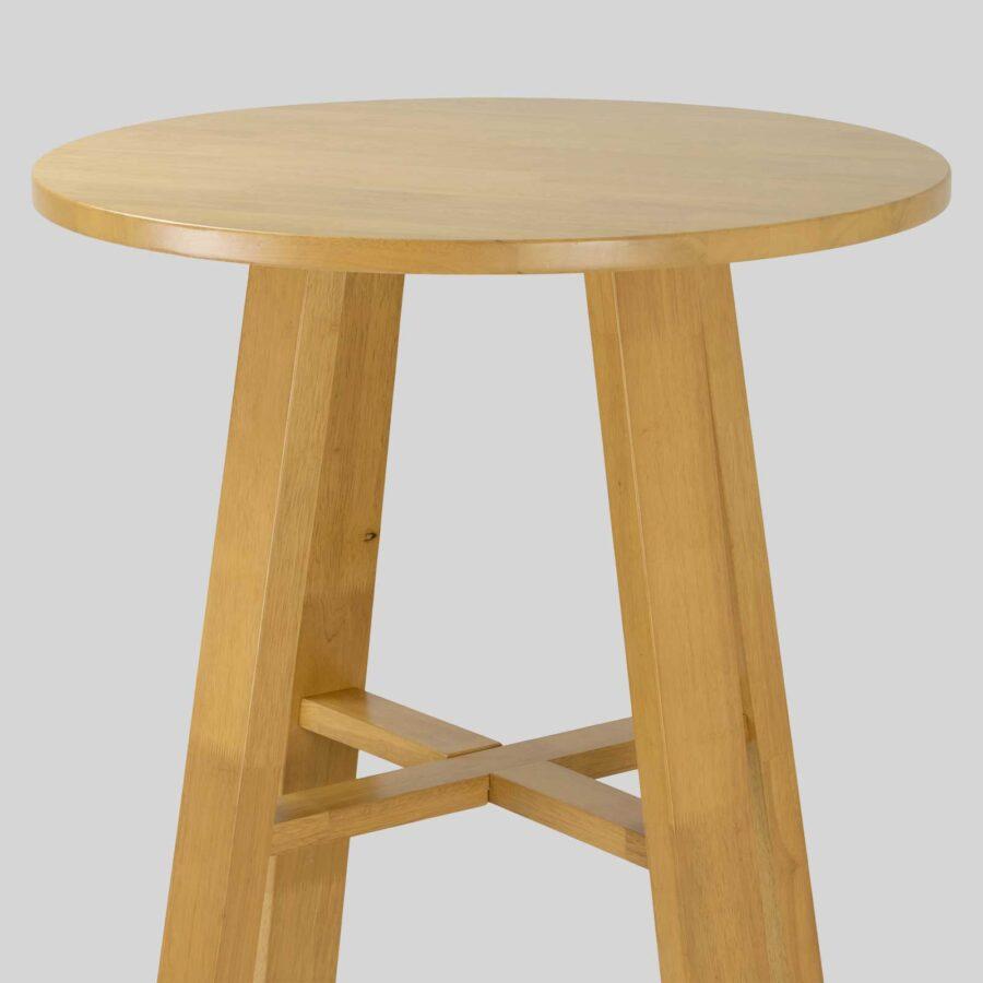 Funk Wooden Bar Table - Natural