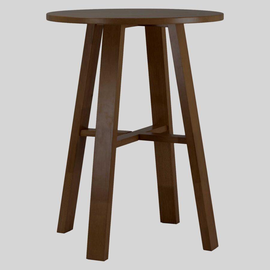 Funk Wooden Bar Table - Walnut