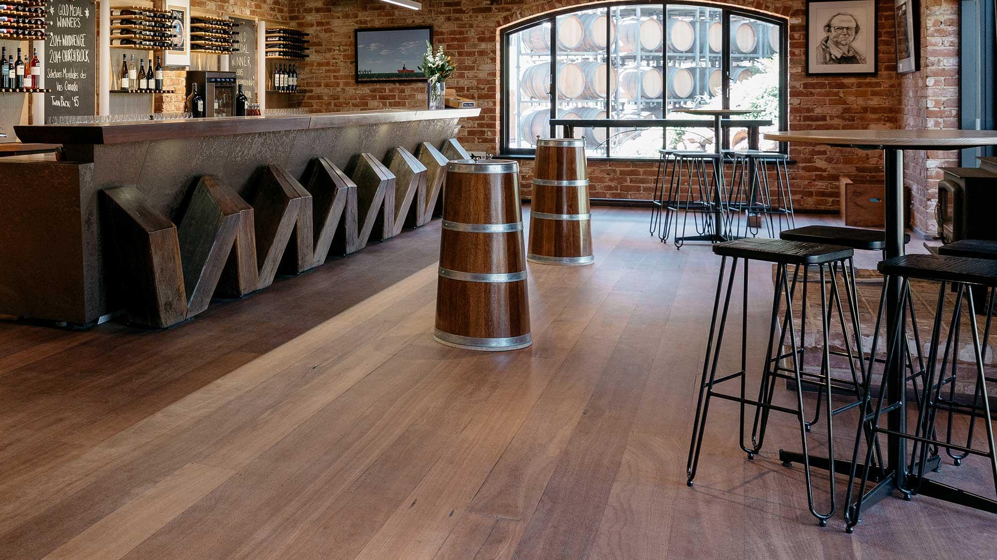 Wirra Wirra Cellar Door - Manhattan Bar Stools