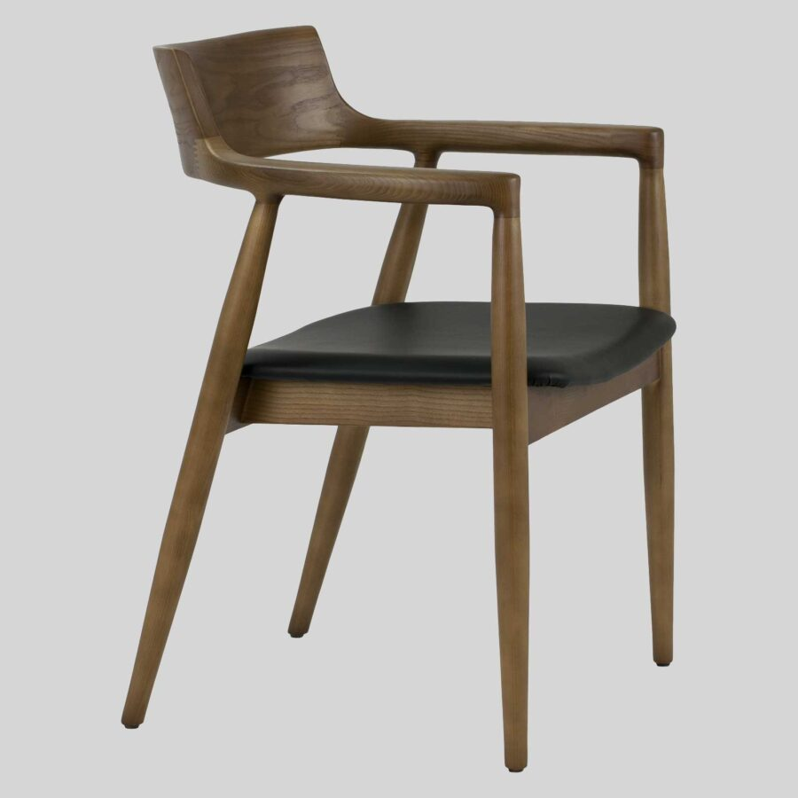 Kingston Armchair - Walnut Stain, Scandinavian design