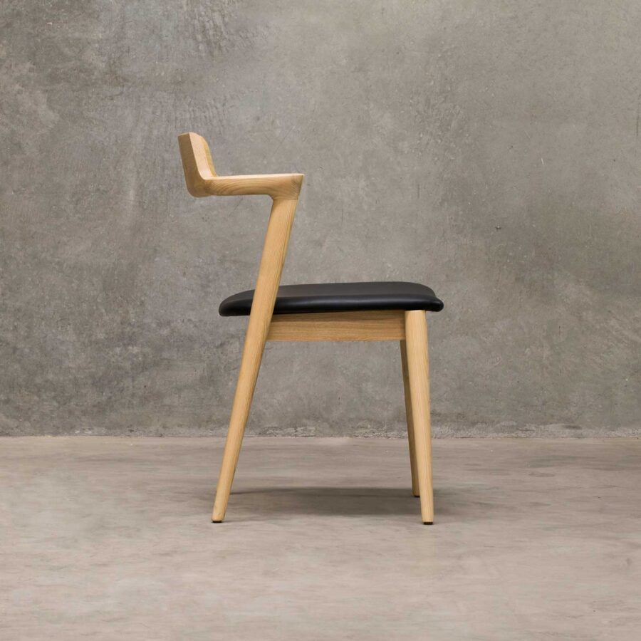 Kingston Side Chair - Natural, mid-century designer looks
