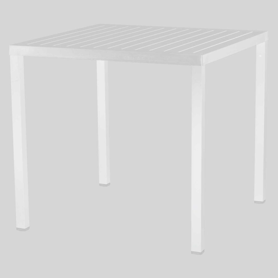 Kew Outdoor Dining Table - White