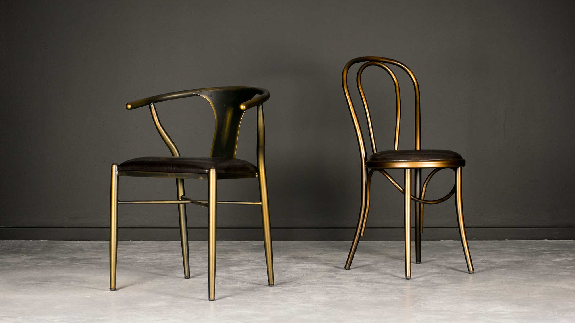 Coleman Chair and Coleman Bistro Chair