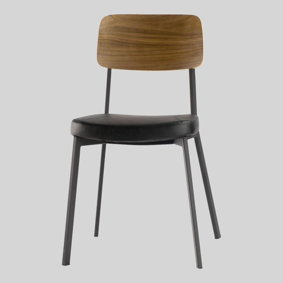 Caprice Dining Chairs - Walnut / Black