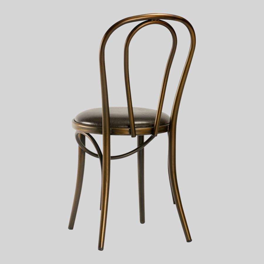 Coleman Bistro Bentwood Chair - Distressed Copper