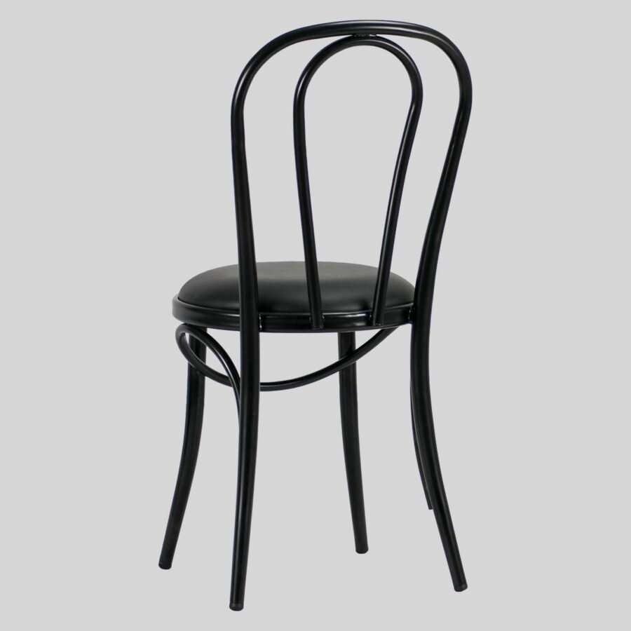Coleman Bistro Bentwood Chair - Black