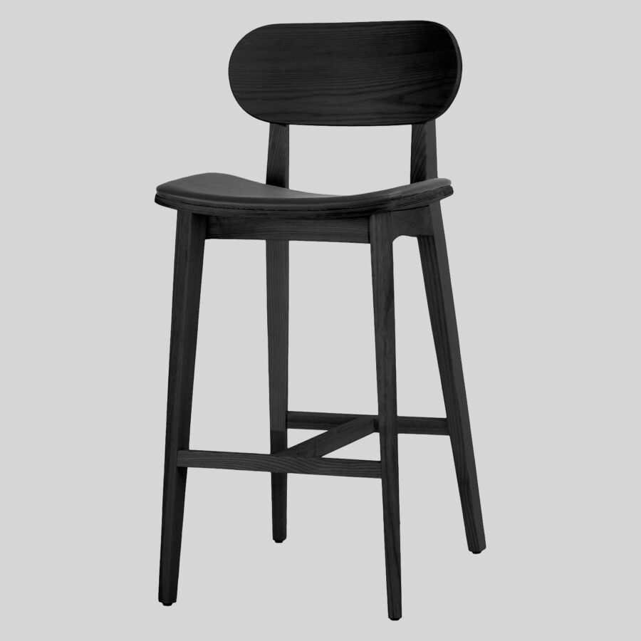 Asahi Bar Chairs - Black