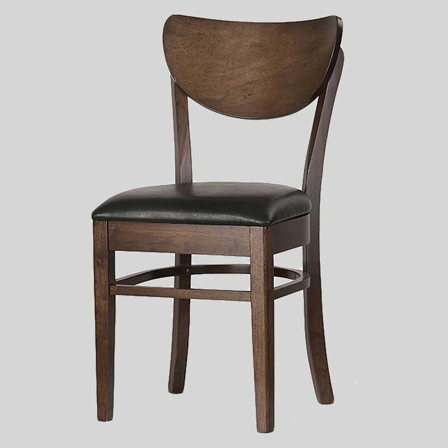 Astor Timber Padded Chair