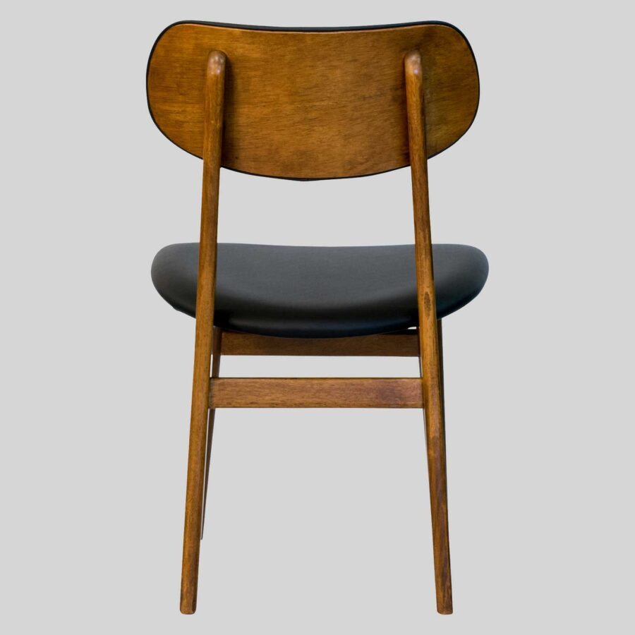 Magnum Table Chair Back - Teak/Black