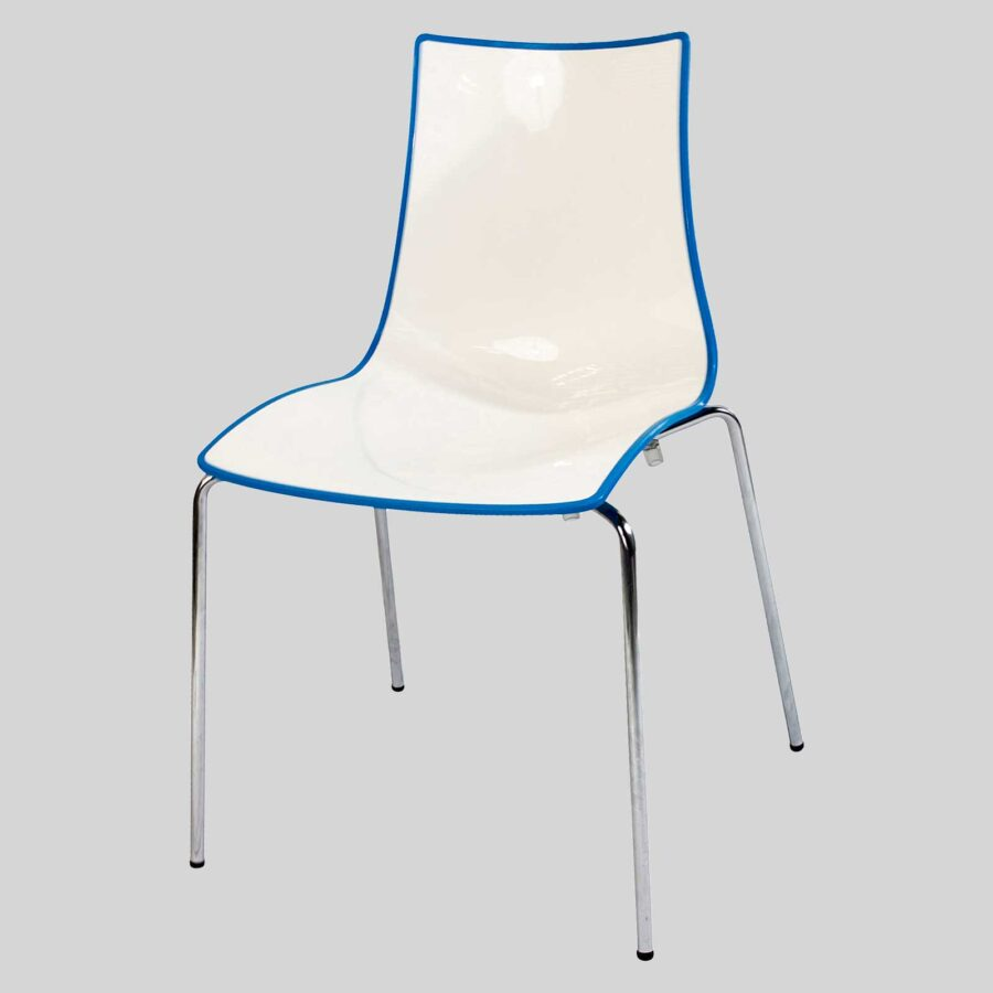 Zelda Duo italian chair - Blue