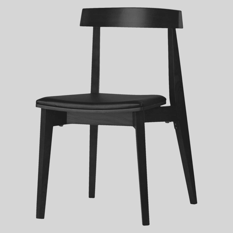 Zoltan hospitality chairs, padded - Black