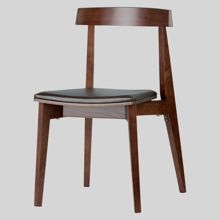 Zoltan hospitality chairs - Padded - Walnut