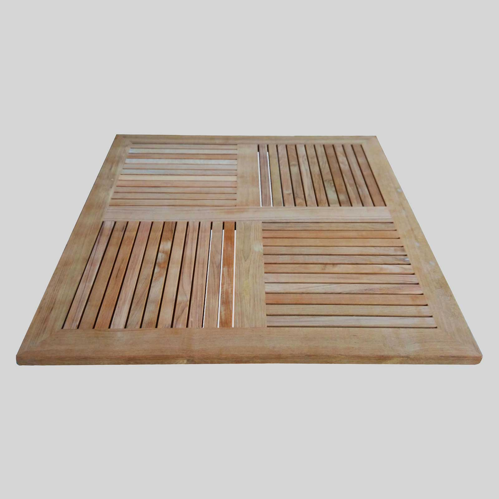 Teak Wood Table Top   Square