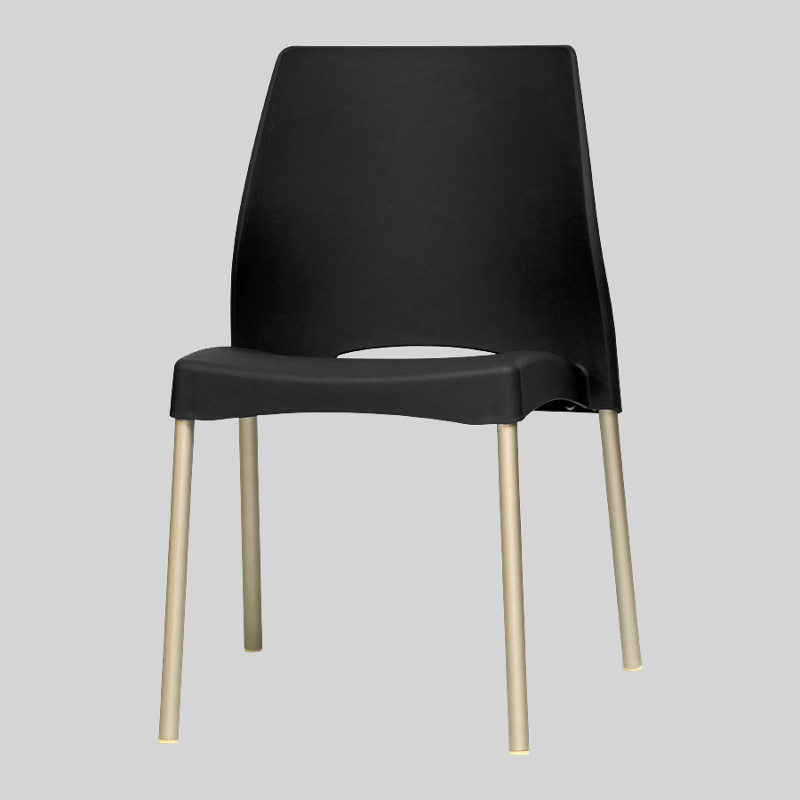 Apollo Australian Cafe Chairs - Black