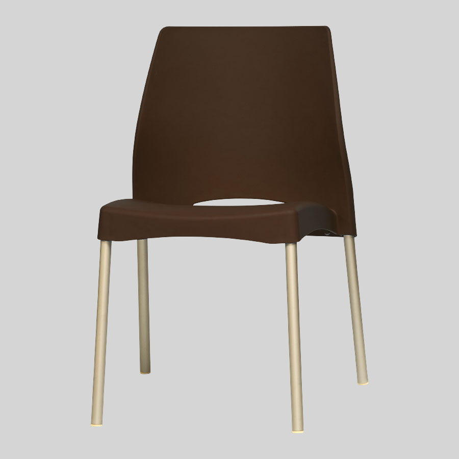 Apollo Australian Cafe Chairs - Brown