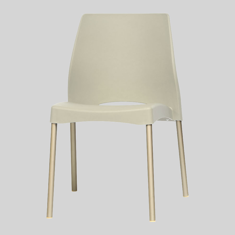 Apollo Australian Cafe Chairs - Ivory