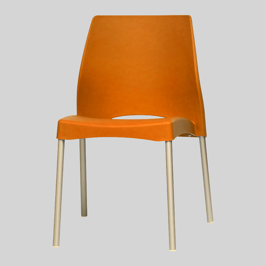 Apollo Australian Cafe Chairs - Orange