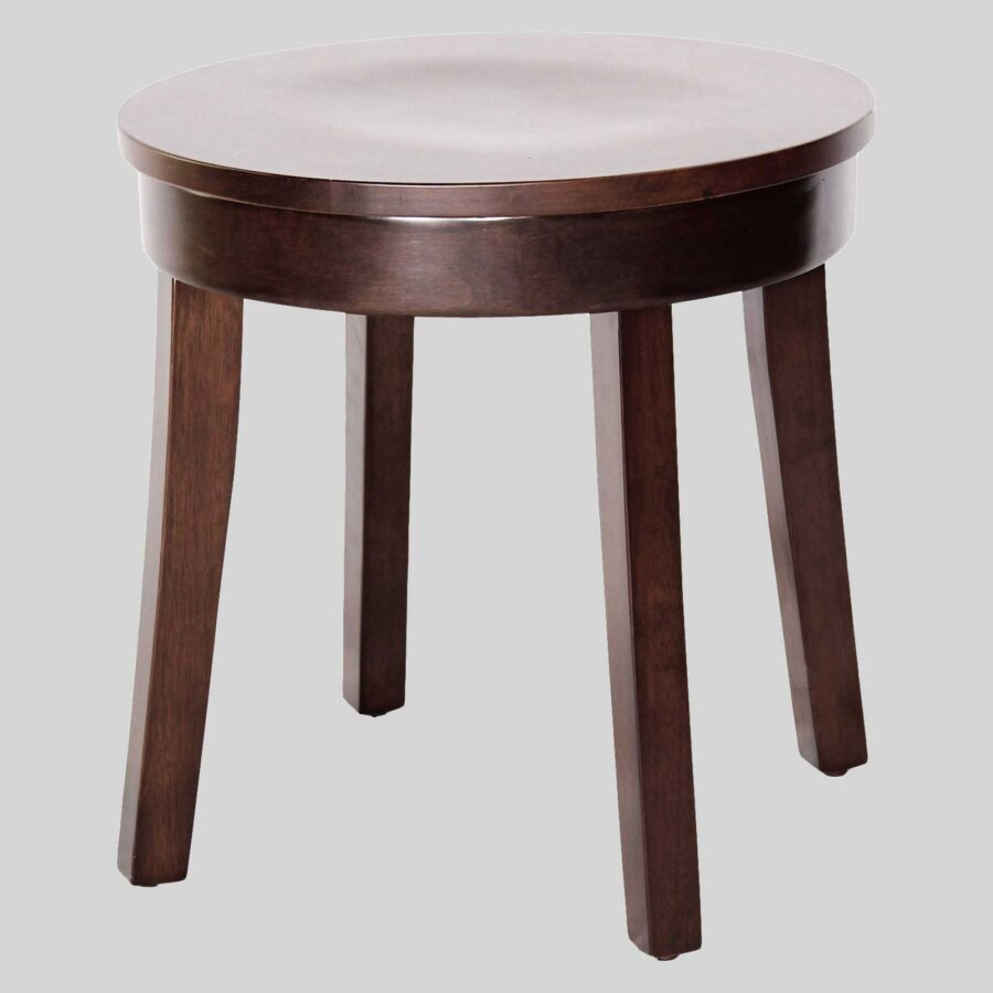 Bono Low Stool - Walnut