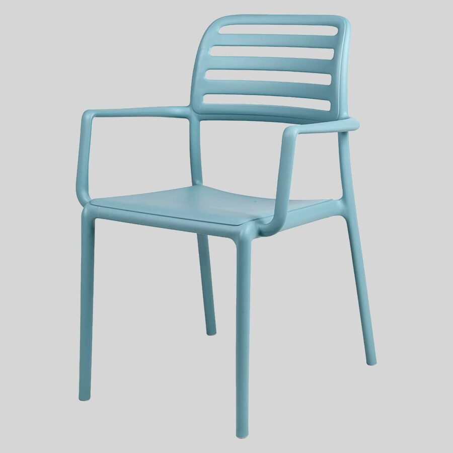 Bosca Outdoor Restaurant chair- Blue