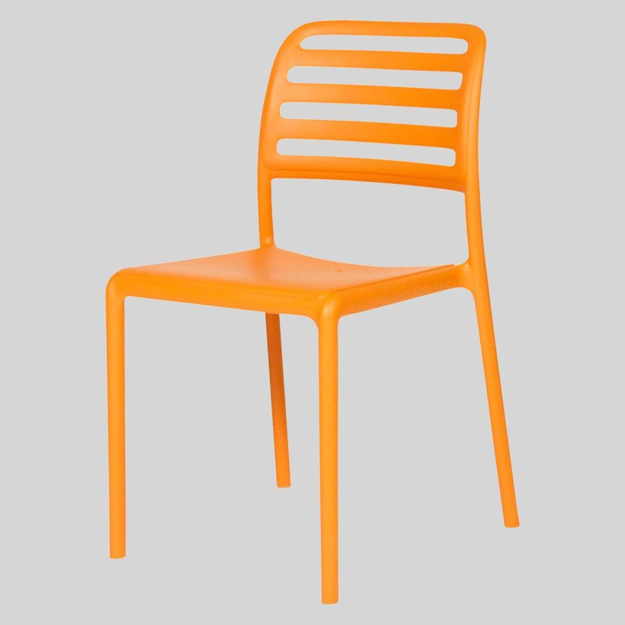 Bosca Outdoor Cafe Chairs - Orange
