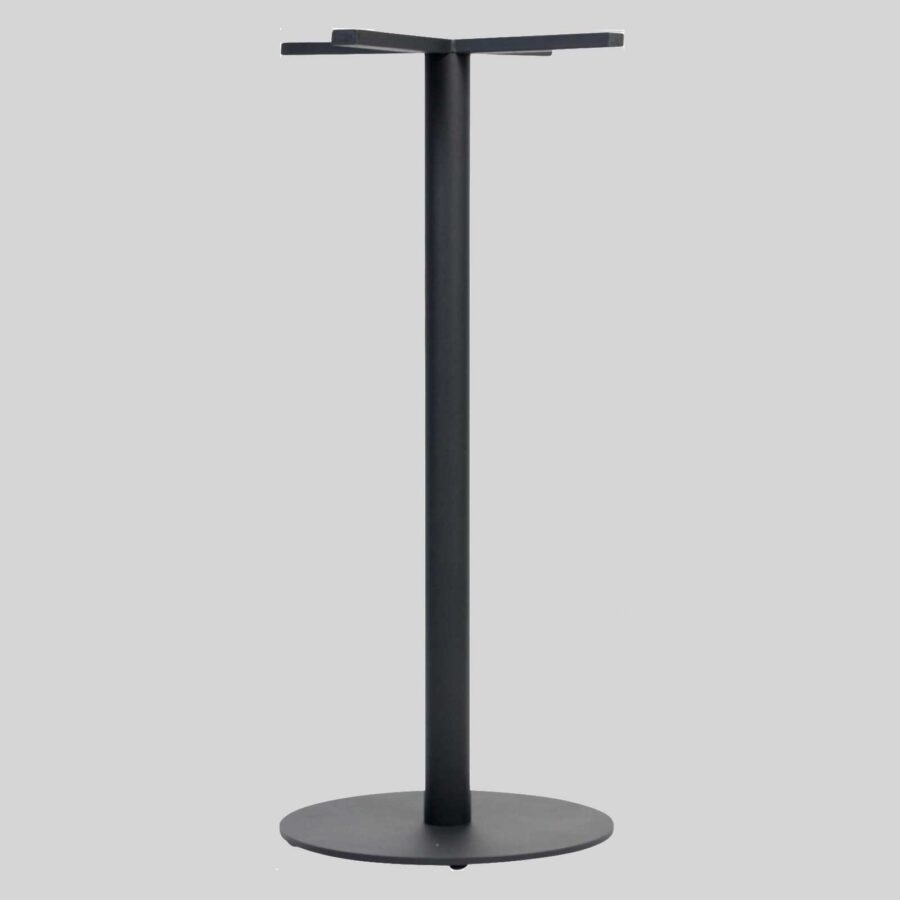 Carlton Round Table Base - Bar 45 - Black